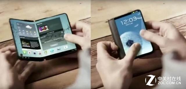 折叠全面屏只有OLED屏幕能够实现