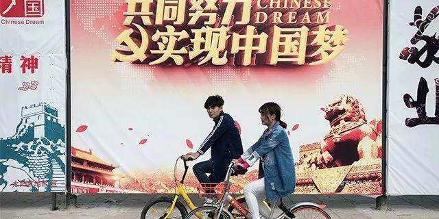 ▲随着财富的增加,中国民众对国家国际地位的期待不断提升。(法新社)