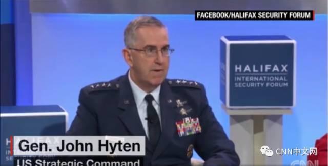 美国战略司令部司令约翰・海登