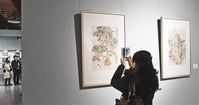重庆大学艺术学院国画系首届教学文献展美术馆开展