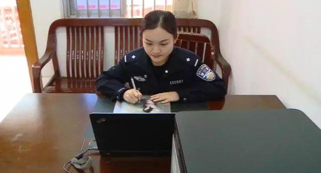 南宁铁路公安处宾阳站派出所民警 韦洁莹: