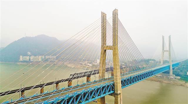新白沙沱长江特大桥将与渝贵铁路同步通车