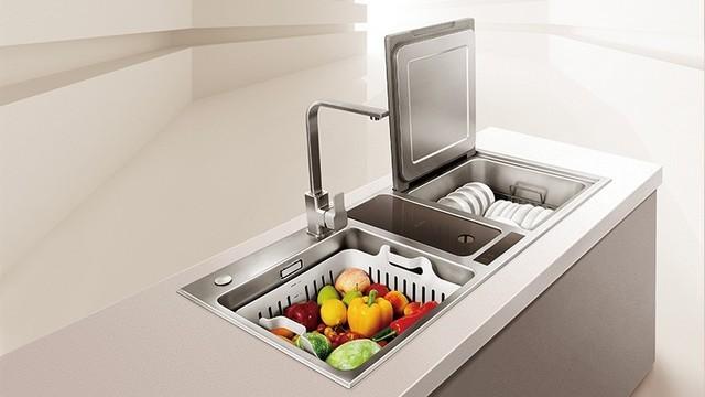 水槽式洗碗机容量较大 满足生活所需