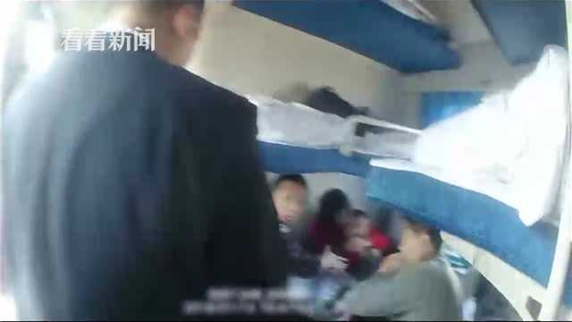 视频|5岁男孩突发42度高烧近乎昏迷 火车破例临停救人