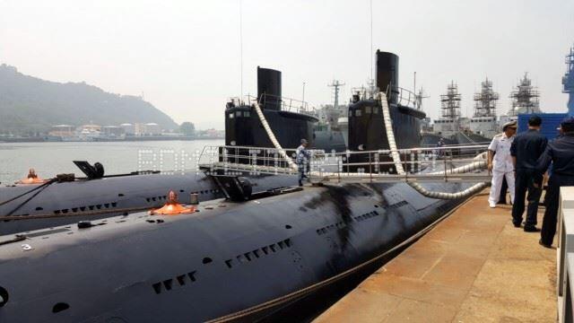 中国出售给孟加拉的2艘035G型常规动力潜艇。