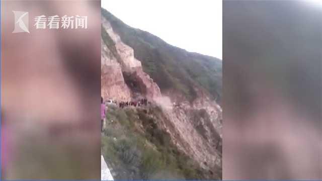 视频|醉酒女子不顾路人提醒 瞬间被泥石流冲下山崖