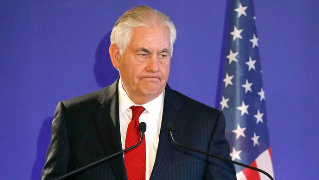 美国务卿提与朝无条件对话 这个国家不太高兴