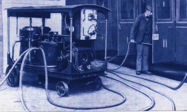 吸尘器至今已有150多年的历史