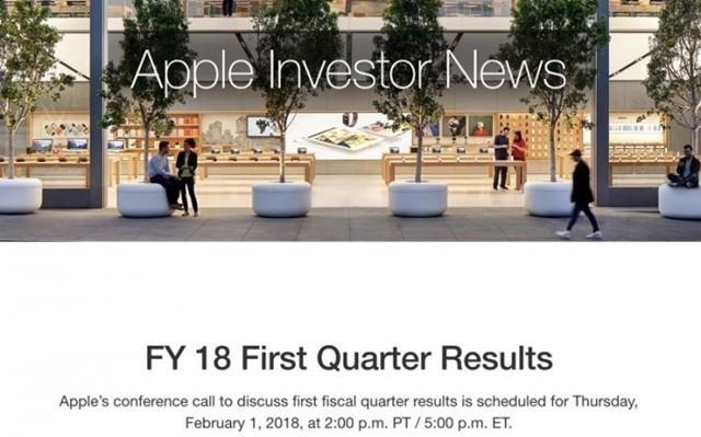 苹果2018Q1财报下月公布:iPhone X销量终揭晓