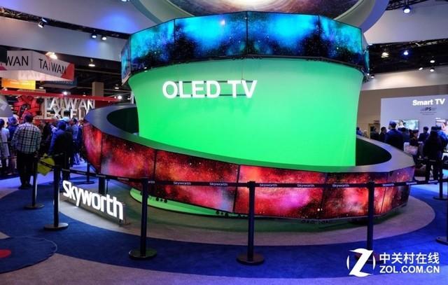 创维OLED电视产品在国际上也有着十分出色的口碑