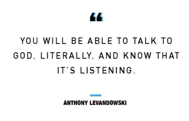 """(""""你将可以与上帝对话,并知道它在聆听你的声音""""<span class="""