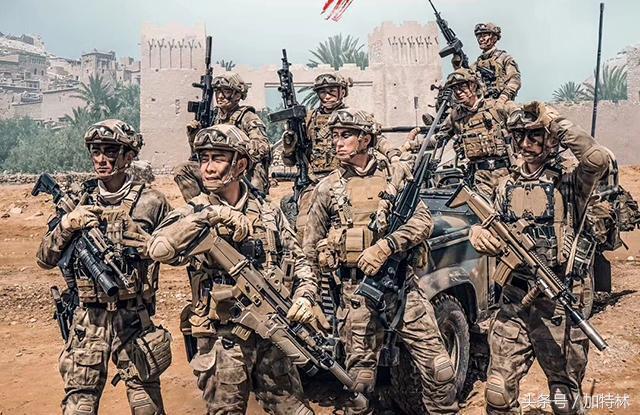 红海行动我国军人为什么使用的大部分都是外国的武器图片