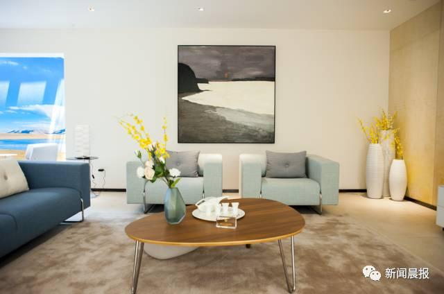 森林海尚的居者, 这所简约现代风格的建筑, 有承载仪式感的挑高客厅