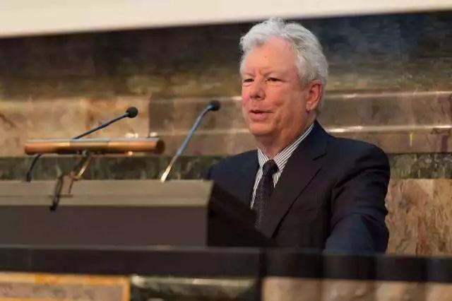2017年諾貝爾經濟學奬得主理查德·塞勒(Richard Thaler)