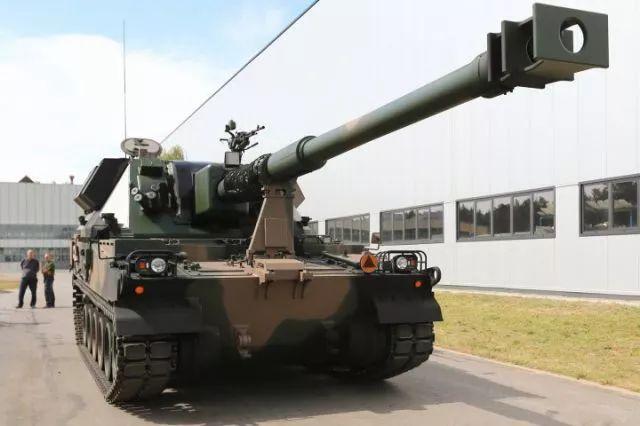 ▲波兰自产K-9榴弹炮(中国军网)