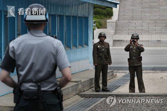 韩国今日上午在板门店致电朝鲜 韩官员:未获回