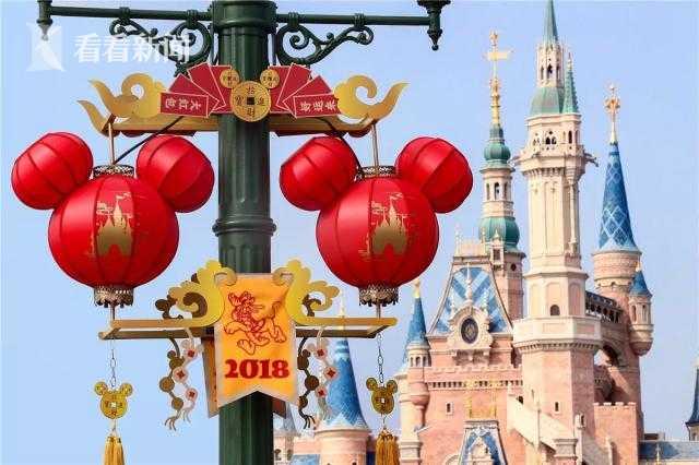 上海迪士尼乐园年三十前一周门票限时7折优惠