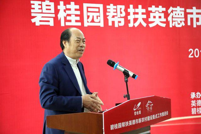 碧桂园杨国强:应鼓励更多企业参与乡村振兴