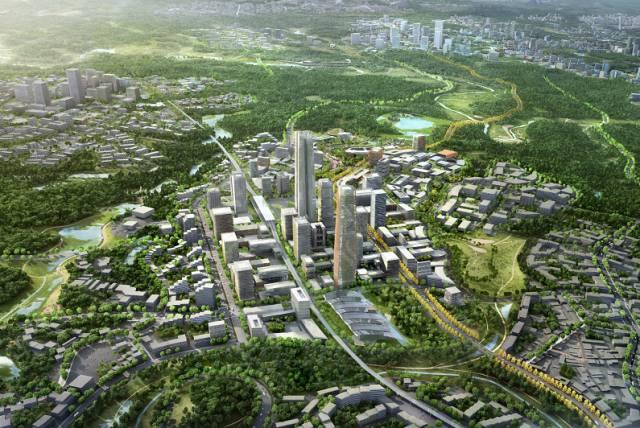 权威解读空港新城分区规划 营建 双轴一带 一港一核 六川六片 空间格局