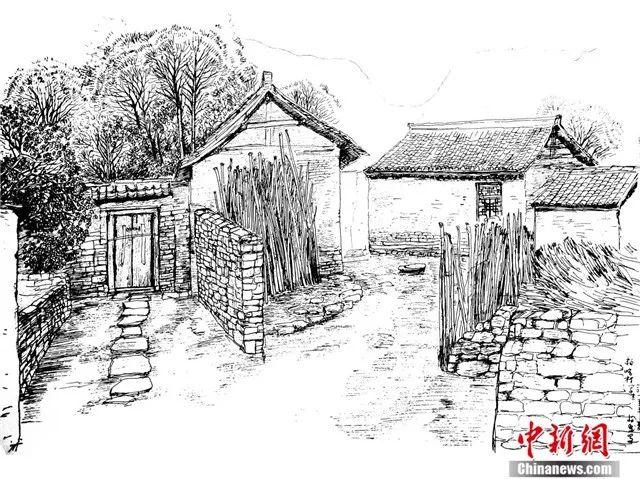 简笔画 手绘 素描 线稿 640_479