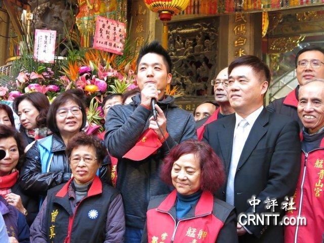 蒋万安(左)与郝龙斌(图片来源:中评社)