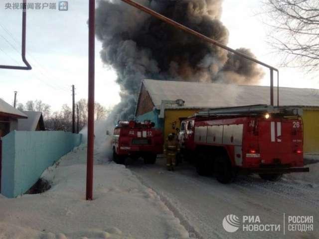 俄罗斯新西伯利亚州一鞋店发生火灾 7名中国公民遇难
