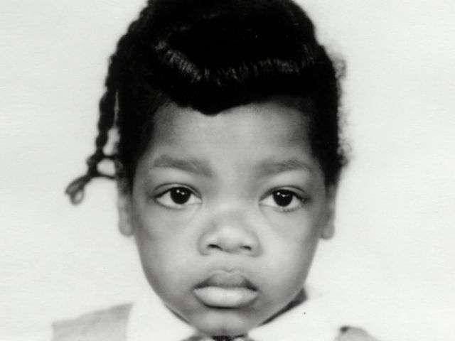 小時候的奧普拉