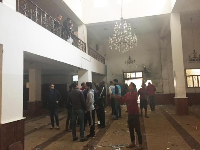 利比亚一清真寺内爆炸致多人伤亡