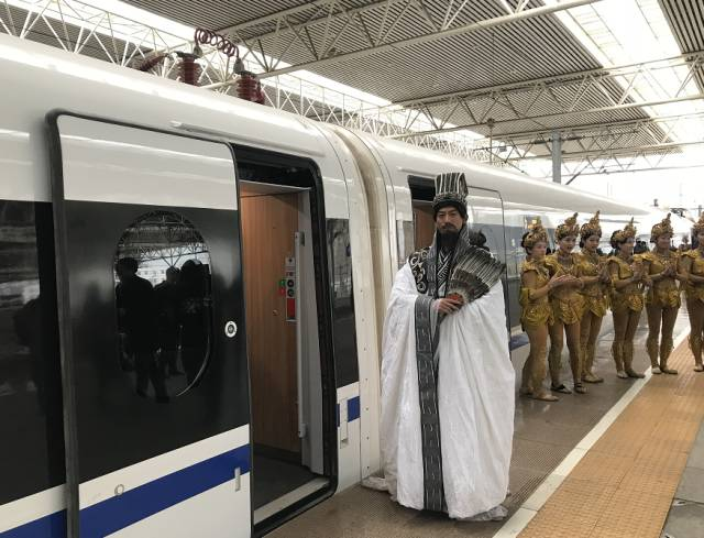 """《长恨歌》将舞台搬到了成都、武则天在高铁上发福利 这股""""陕旋风""""太劲爆了"""