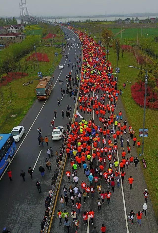 29 江苏·南通·通州开沙岛半程马拉松:跨江跑道,享受天然湿地好春光!