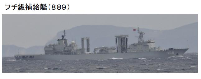 图为日方拍摄到的中国舰艇