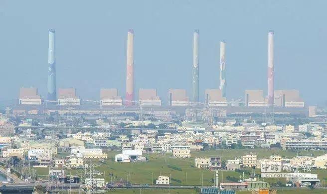 资料图:台中火力发电厂