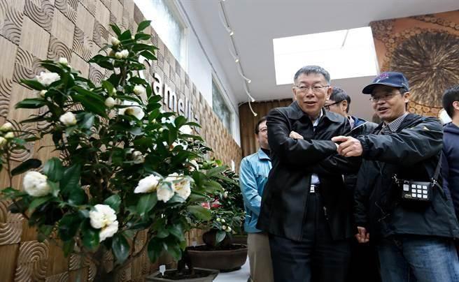 """台北市长柯文哲否认相关传闻(图片来源:""""中时电子报"""")"""