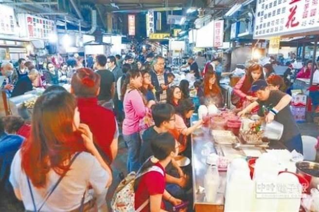 台湾夜市小吃(资料图片)