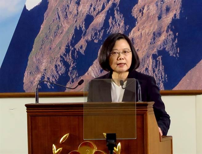 蔡英文。(图片来源:台湾《中国时报》)