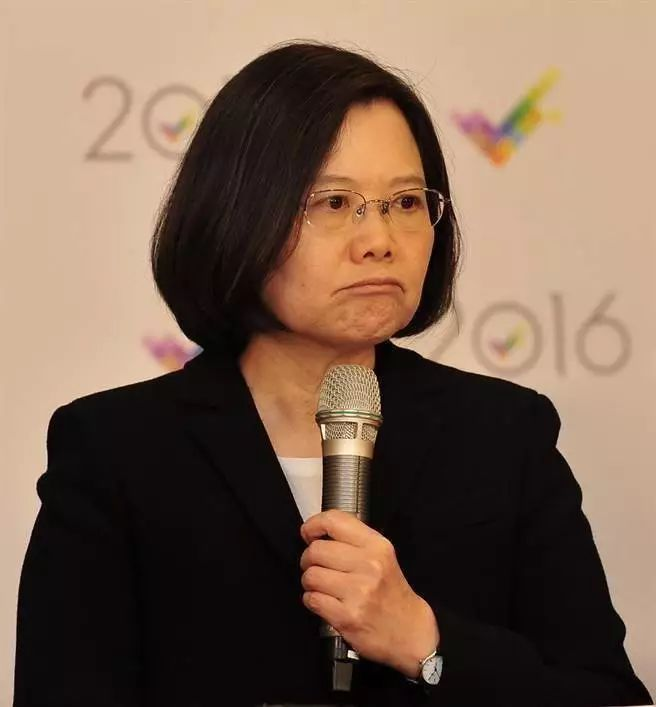 ▲蔡英文(台湾中时电子报)