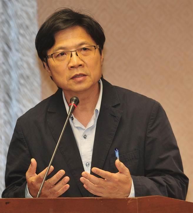 """台当局""""内政部长""""叶俊荣。(图片来源:台湾《中时电子报》)"""