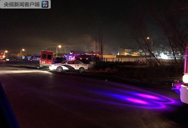 内蒙古包头一处厂房发生火灾 伤亡人数不明