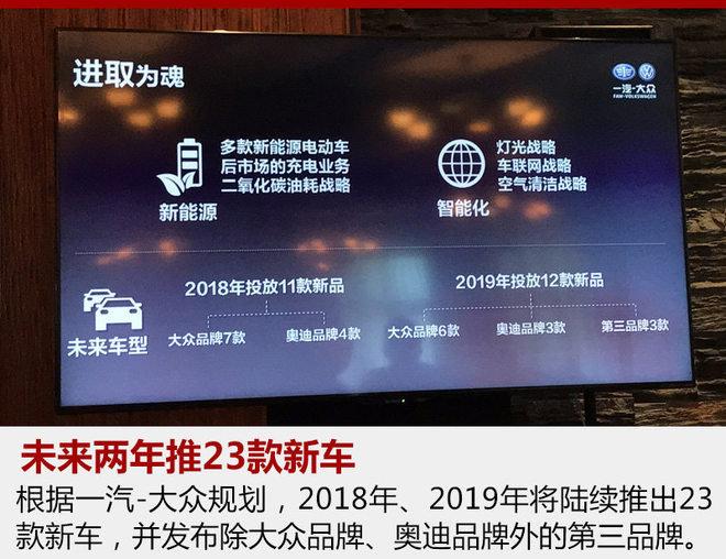 一汽-大众再增一款跨界SUV 预计2019年上市