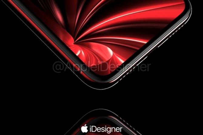苹果要出红色iPhone X?红黑搭配颜值帅爆|苹果|红色|红