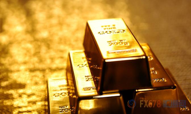 金价升至一周高位 因美股回暖通胀数据临近压制美元