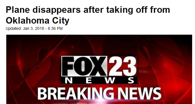 外媒:美一飞机失联或坠墨西哥湾 海岸警卫队已