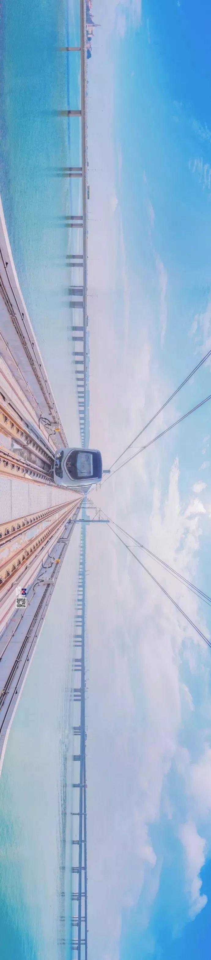 """不用去斯里兰卡,国内首条梦幻""""海上地铁线"""""""