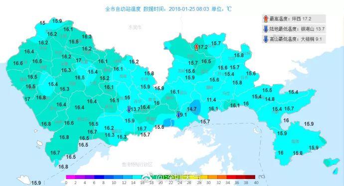 最低7℃,深圳冬天最强一波冷空气马上到货!网友:取暖全靠抖