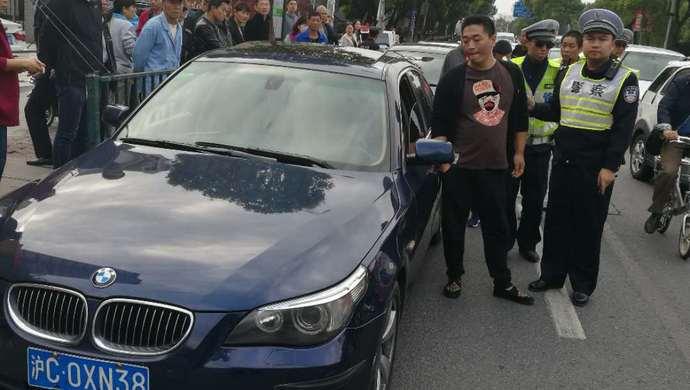 上海交警3个月查获40余假套牌车