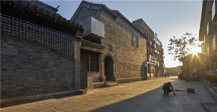 北京西打造厂打磨了七个字体院,旧城的2016数字大师设计图片图片
