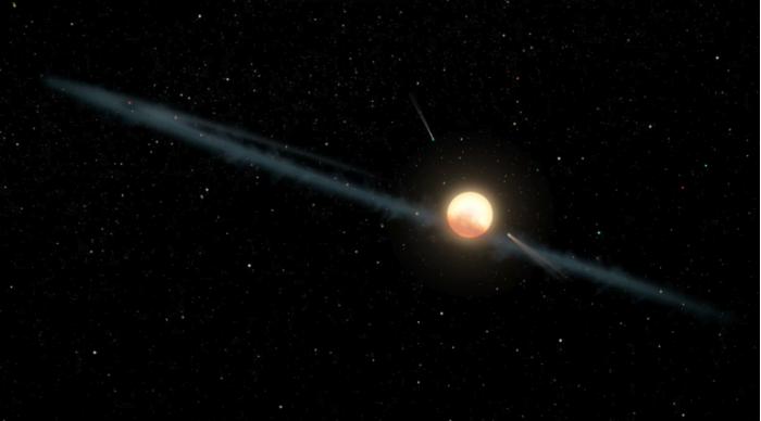 """天文学家提出神秘""""外星巨型结构""""恒星"""