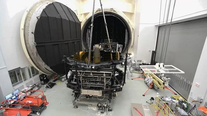 詹姆斯韦伯太空望远镜已完成真空极限低温测试