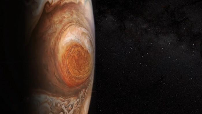 """木星神秘""""大红斑"""" 持续变化 垂直长度将变更长"""