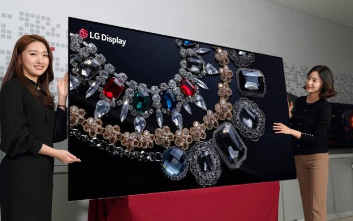 高手资料论坛LGD研发出88英寸8K OLED面板 CES将展出